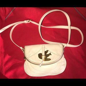 Marc Jacobs Ivory Mini Dove Crossbody Bag